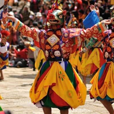 不丹节庆之旅