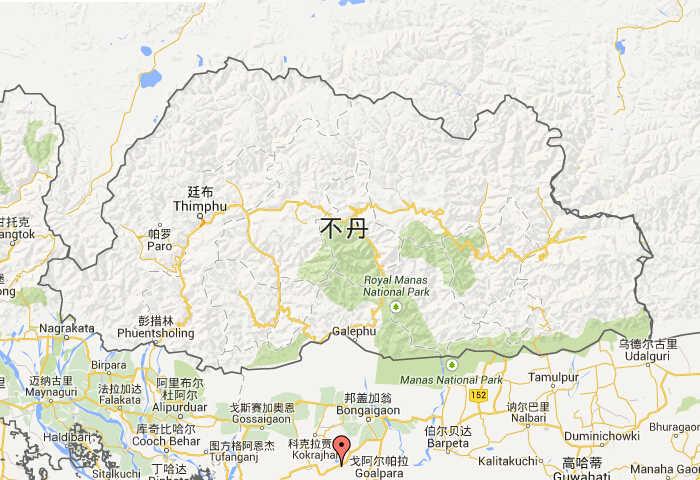 不丹在哪里