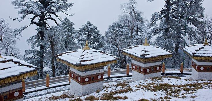 不丹天气-冬季