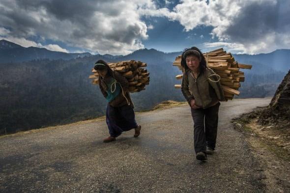 不丹人文摄影