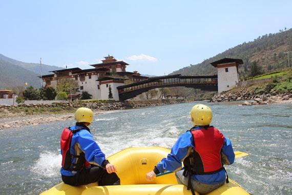 不丹激流漂流之旅