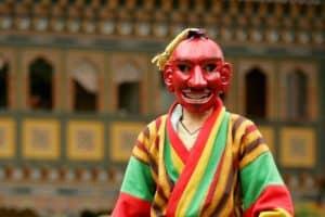 策秋节庆典小丑