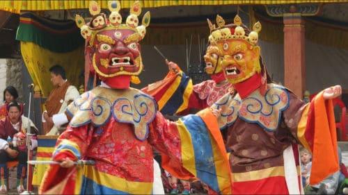 cham 不丹节庆舞蹈